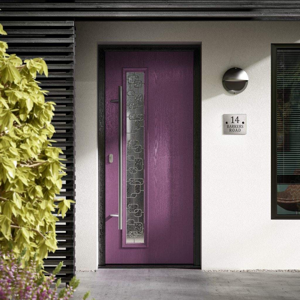 Contemporary Composite Door by Frame Fast Derby