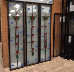 decorative glass project by Frame Fast