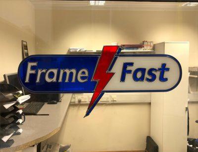 Frame Fast Decorative Glass Logo