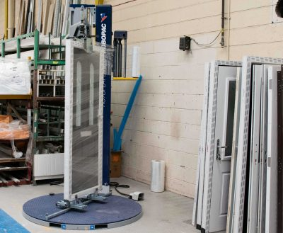 wrapping machine for composite doors at Frame Fast