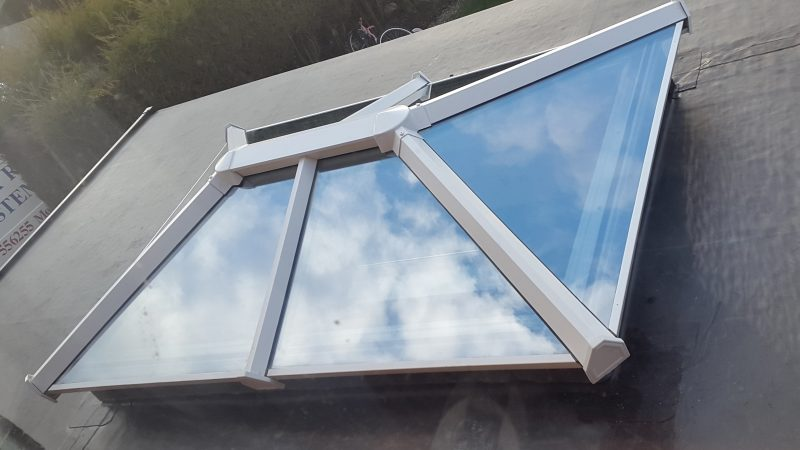 Skypod roof system from Frame Fast Derby