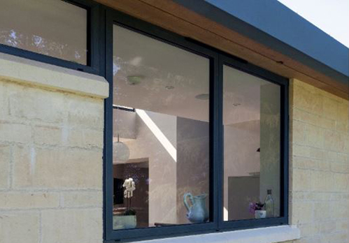 Slimline Aluminium Windows from Frame Fast Derby