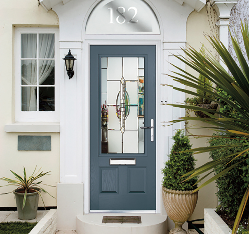 Traditional and contemporary composite doors