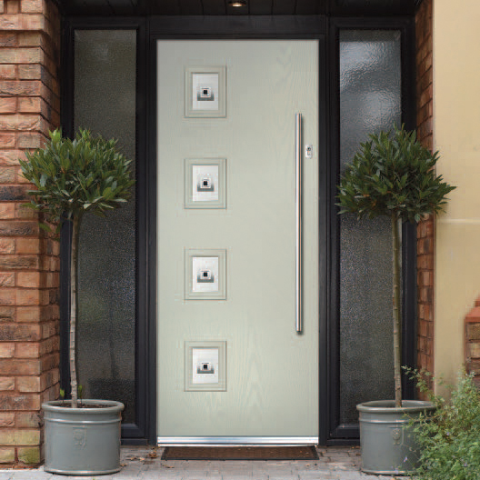 Contemporary composite doors from Frame Fast
