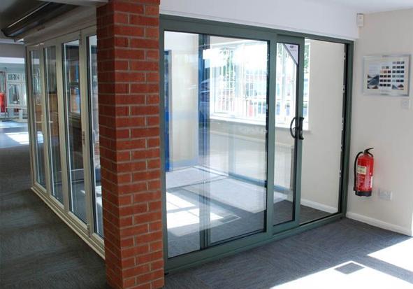 Aluminium Sliding Patio Doors For The Trade Frame Fast Derby